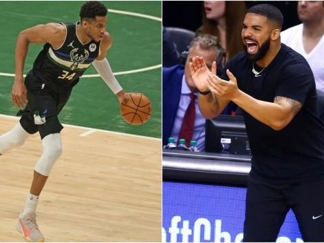 El guiño de Drake a Giannis Antetokounmpo y Stephen Curry en su nuevo disco
