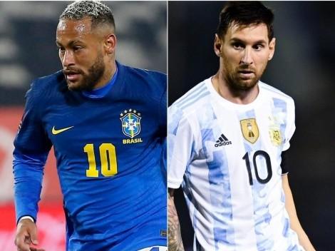 Brasil vs Argentina: los 11 probables para el nuevo clásico de Eliminatorias
