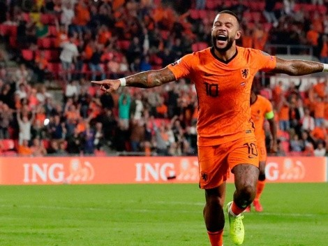 De la mano de Memphis Depay, Países Bajos goleó a Montenegro