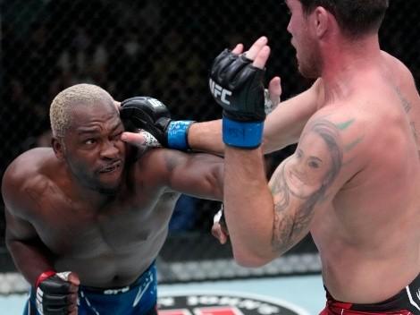 Derek Brunson derrotó con una brutal sumisión a Darren Till en Las Vegas
