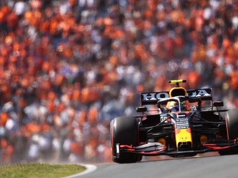 Fórmula 1: Enorme remontada de Checo Pérez en los Países Bajos