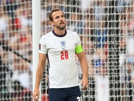 Kane alcanzó a una leyenda de Inglaterra y sube en la tabla de máximos goleadores