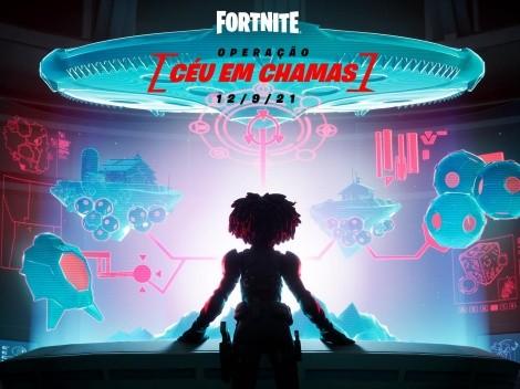 Fortnite recebe data do final do Capítulo 2 Temporada 7, com evento Operação: Céu em Chamas