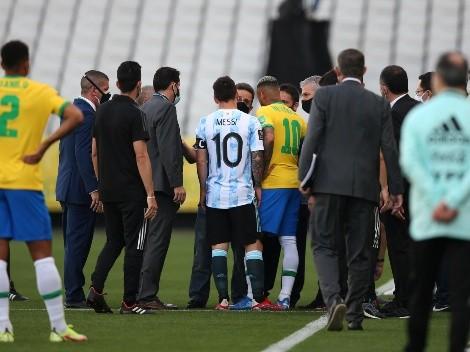 Brasil vs. Argentina: los escenarios posibles tras la suspensión del partido