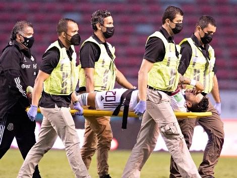 Alexis Vega fue llevado a un hospital de San José de Costa Rica