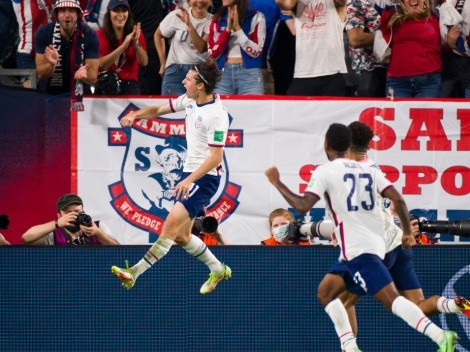 VIDEO: USA abre el marcador ante Canadá con gol de Brenden Aaronson