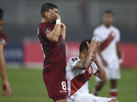 Tomás Rincón fue expulsado: las dos faltas que cometió para ver la roja en el duelo ante Perú