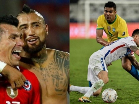 Vidal y Medel alimentan la ilusión de que Aránguiz esté frente a Colombia