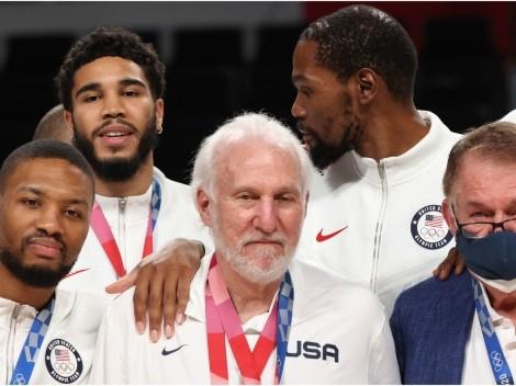 ¡LeBron, el futuro está seguro! Así sería el Dream Team de USA en París 2024