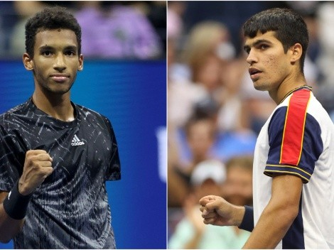 Felix Auger-Aliassime vs Carlos Alcaraz: Predictions, odds, H2H and how to watch 2021 US Open quarterfinals in the US today