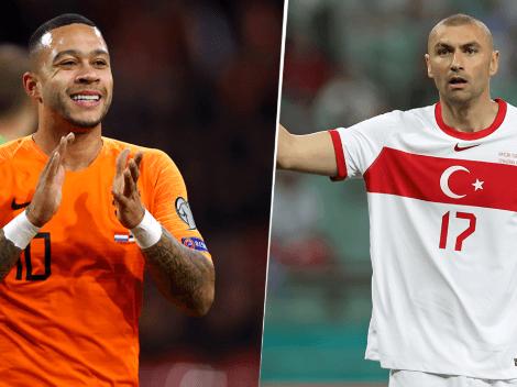 EN VIVO: Países Bajos vs. Turquía por las Eliminatorias UEFA