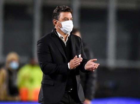 """Gallardo no ve bien a Palavecino: """"Todavía no pudo jugar su mejor fútbol"""""""