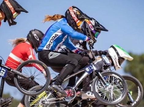 BMX Race: Priscilla Stevaux é vice-campeã das etapas 5 e 6 do Campeonato Europeu