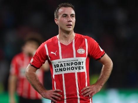 Mario Götze renova contrato com o PSV Eindhoven até o fim da temporada 2023-24
