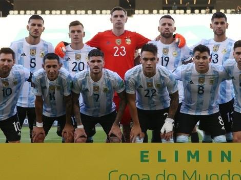 Con las cuatro bajas, el posible once de Argentina frente a Bolivia
