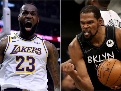Las victorias y derrotas que le predicen a Los Angeles Lakers y Brooklyn Nets