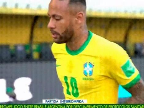 Video: Neymar le hizo un terrible sombrero a un camarógrafo
