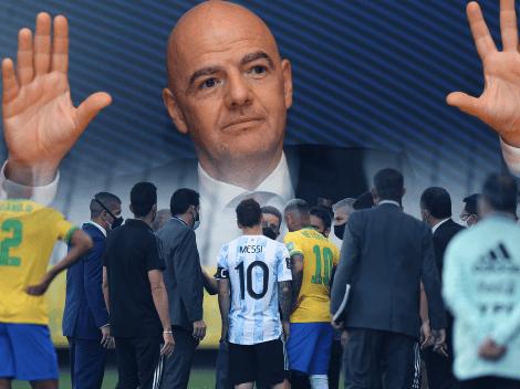 Notificación de la FIFA: Brasil y Argentina tienen 6 días para presentar un descargo