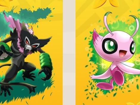 Zarude Papá y Celebi Shiny llegan a Pokémon Espada y Escudo gratis