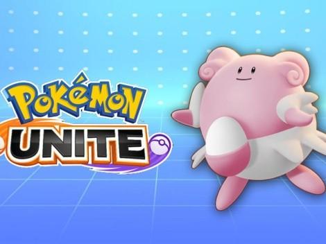 Pokémon UNITE lanza su nueva actualización con cambios para Blissey