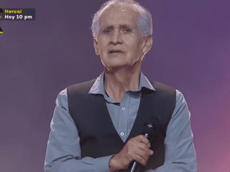 La Voz Perú: tiene 72 años, es profesor, cantó Paloma Torcaza pero nadie se volteó
