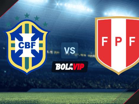 Cómo VER Brasil vs. Perú HOY por las Eliminatorias Conmebol: día, hora y canal de TV del partido