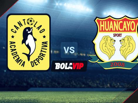 ◉ EN VIVO: Academia Cantolao vs. Sport Huancayo