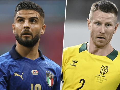 Eliminatórias europeias: Itália x Lituânia; prognóstico de um jogo com um grande favorito