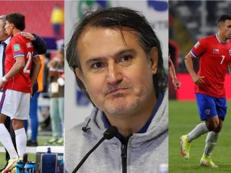 Vergara se la juega por los dos jóvenes delanteros de La Roja ante Colombia