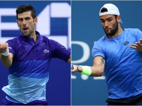 Novak Djokovic vs Matteo Berrettini: Predictions, odds, H2H and how to watch the US Open 2021 quarterfinals in the US today