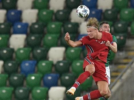 Otro hat-trick: la impresionante cosecha goleadora de Haaland para Noruega