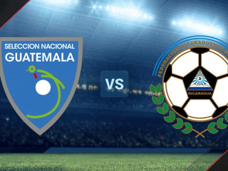 Guatemala vs. Nicaragua EN VIVO ONLINE por un partido amistoso: Fecha, horario, canal de TV y streaming para ver EN DIRECTO