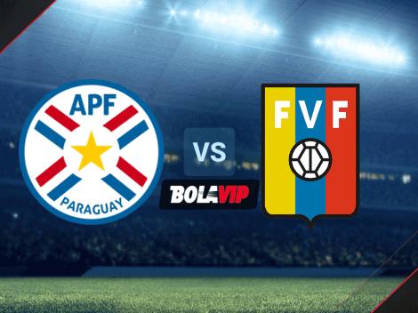 Cuándo juegan Paraguay vs. Venezuela por las Eliminatorias rumbo a Qatar 2022