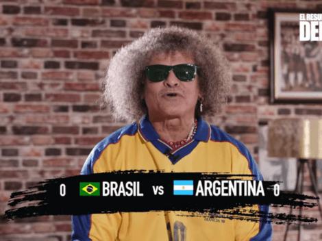"El Pibe no pasa por alto el show de Brasil - Argentina: ""Es una recocha"""