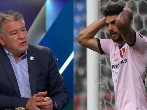 Borghi le da un tirón de orejas a la dirigencia de la U por renovación de Larrivey