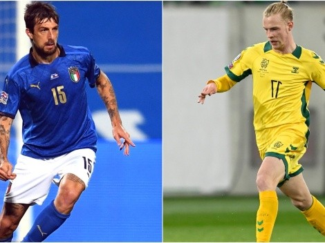 Itália x Lituânia: data, horário e canal para assistir AO VIVO à partida das Eliminatórias da Europa para a Copa de 2022