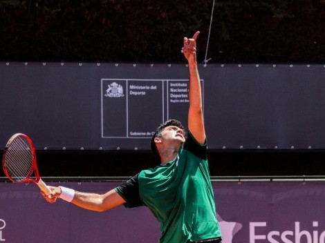 Tomás Barrios avanzó a cuartos de final en Sevilla tras abandono de Jack Draper