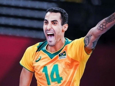 Jogador de vôlei Douglas Souza é vítima de homofobia na Europa