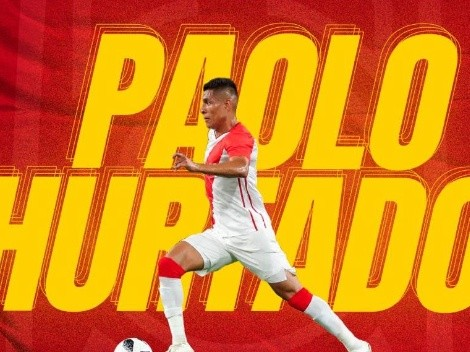 A recuperarse Caballito: Paolo Hurtado fue oficializado en Unión Española con gran post
