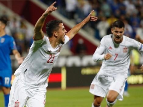 España venció a Kosovo y lideran con comodidad