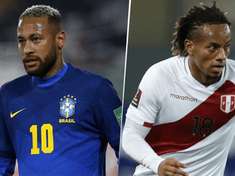 EN VIVO: Brasil vs. Perú por las Eliminatorias