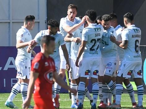 Después de 215 días, Santiago Wanderers volvió a la victoria ante La Calera