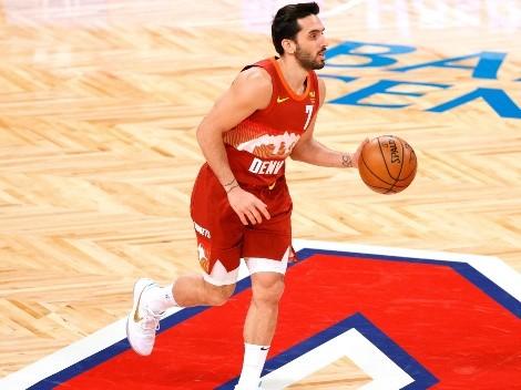 Se pone a punto: Campazzo ya está en Denver entrenando para la nueva temporada NBA