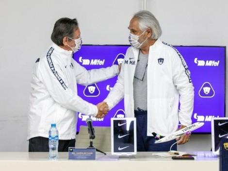 Mejía Barón asume cargo en Pumas y anuncia su postura respecto a Lillini