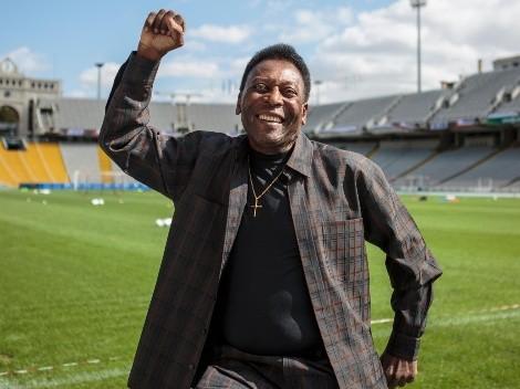 Pelé atualiza fãs sobre situação clínica e manda mensagem ao cantor Roberto Carlos, que perdeu o filho nesta quarta-feira (8)