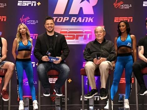 ESPN Knockout y Top Rank expanden su acuerdo multimedial en América Latina