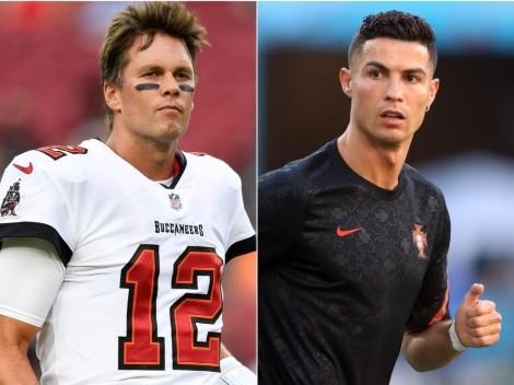 Vuelve la NFL: el vínculo entre Tom Brady y Cristiano Ronaldo