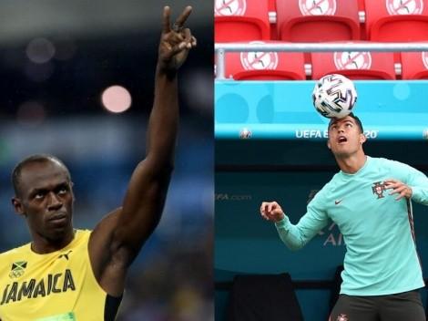 ¿Retiro? Usain Bolt presagió hasta qué edad va a jugar Cristiano Ronaldo