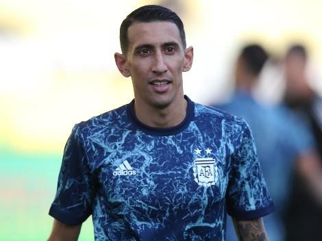 El curioso tatuaje que se hizo un hincha en honor al gol de Di María contra Brasil