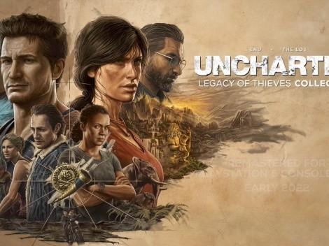 Uncharted 4: A Thief's End y The Lost Legacy serán remasterizados para PS5 y PC
